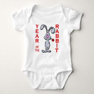 Cartoon Rabbit Yr of the Rabbit Gifts Infant Creeper