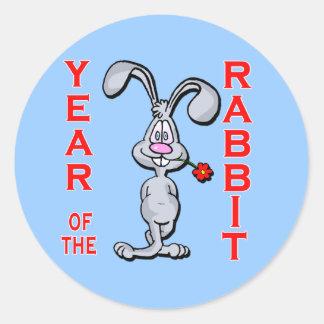 Cartoon Rabbit Yr of the Rabbit Gifts Sticker