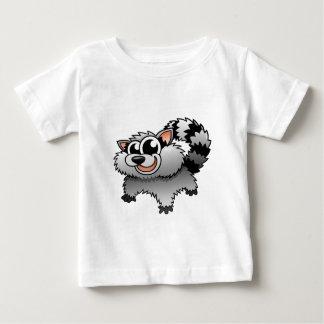 Cartoon Raccoon Baby T-Shirt