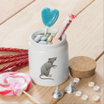 Cartoon Rat Candy Jars