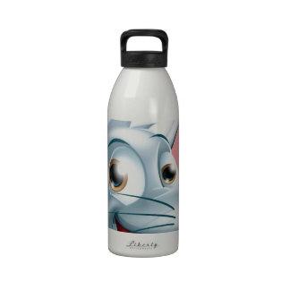 Cartoon Rat Face Reusable Water Bottle