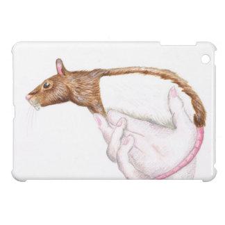 cartoon rat iPad mini case