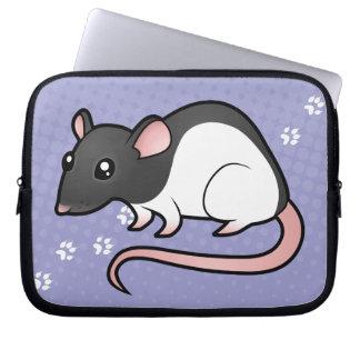 Cartoon Rat Laptop Sleeve