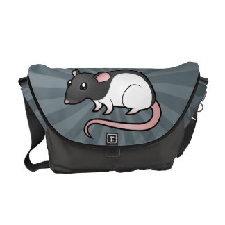 Cartoon Rat Messenger Bag