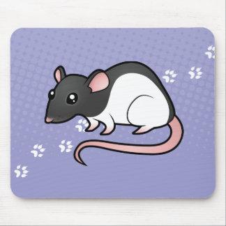Cartoon Rat Mouse Pad