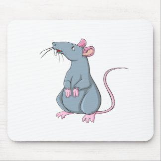 Cartoon Rat Mouse Pads