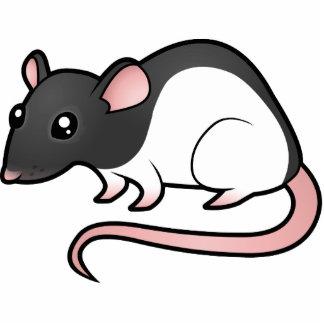 Cartoon Rat Photo Cutout