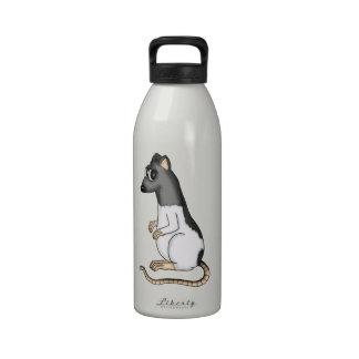Cartoon Rat Reusable Water Bottle