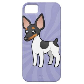 Cartoon Rat Terrier / Toy Fox Terrier iPhone 5 Cover
