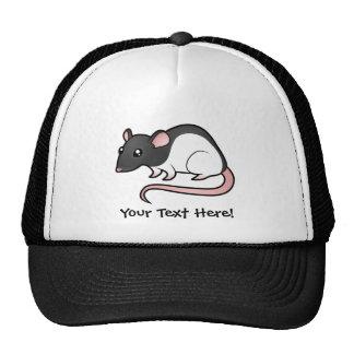 Cartoon Rat Trucker Hat