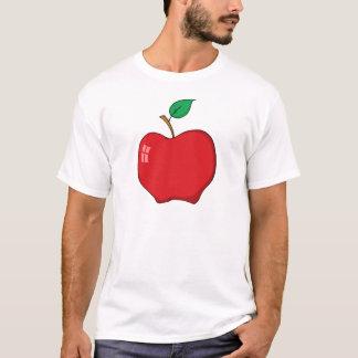 Cartoon Red Apple T-Shirt