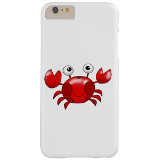 Cartoon red crab barely there iPhone 6 plus case