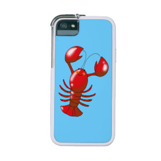 cartoon red lobster iPhone 5 cases
