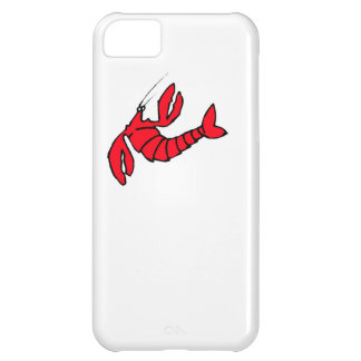 Cartoon Red Lobster Case For iPhone 5C