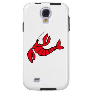 Cartoon Red Lobster Galaxy S4 Case