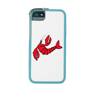 Cartoon Red Lobster iPhone 5 Case