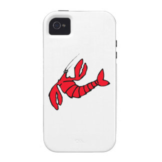Cartoon Red Lobster Case For The iPhone 4