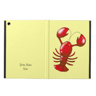 cartoon red lobster case for iPad air
