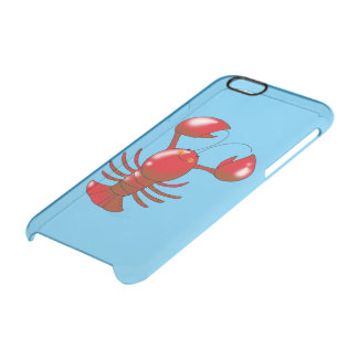 cartoon red lobster uncommon clearly™ deflector iPhone 6 case