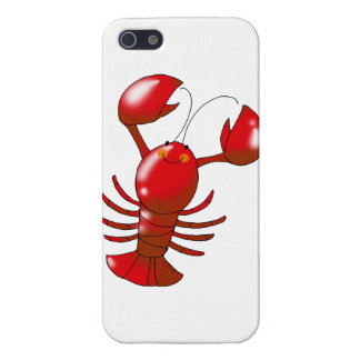 cartoon red lobster iPhone 5/5S cases