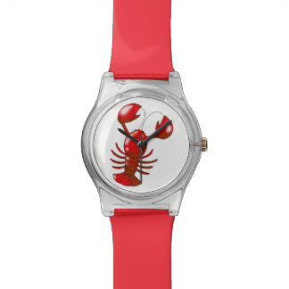 cartoon red lobster watches