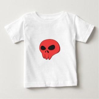 cartoon red skull baby T-Shirt