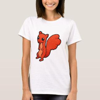Cartoon Red Squirrel T-Shirt