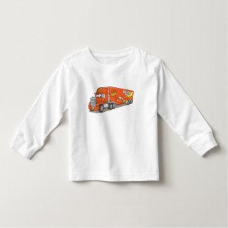 Cartoon Red Truck Disney T Shirt