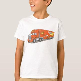 Cartoon Red Truck Disney T-Shirt