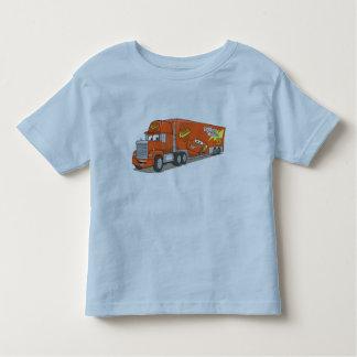 Cartoon Red Truck Disney Toddler T-shirt