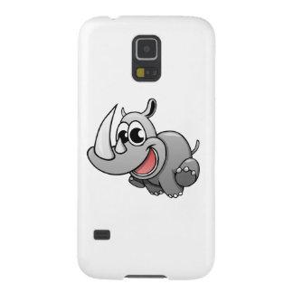 Cartoon Rhino Case For Galaxy S5