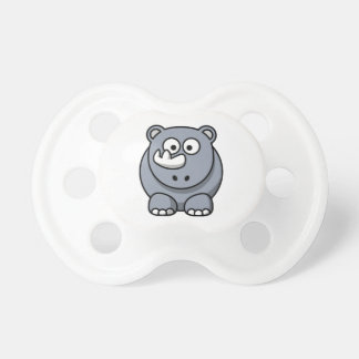 Cartoon Rhino Baby Pacifiers