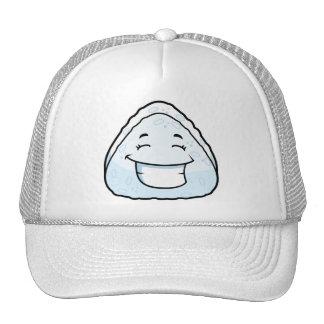 Cartoon Rice Ball Trucker Hat