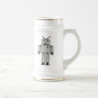 Cartoon Robot Beer Stein