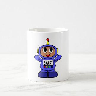 Cartoon Robot Boy Coffee Mug