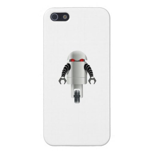 Cartoon Robot Covers For iPhone 5
