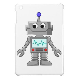 Cartoon Robot iPad Mini Cover