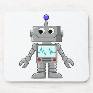 Cartoon Robot Mouse Pad