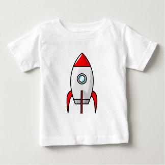 Cartoon Rocket Baby T-Shirt