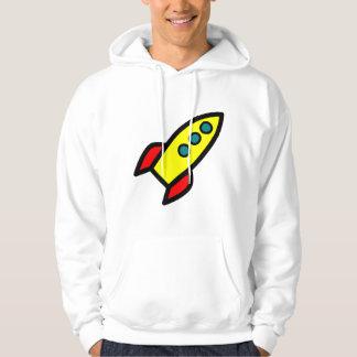 Cartoon Rocket Pullover