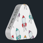 """Cartoon Rocket Ship Pattern Bluetooth Speaker<br><div class=""""desc"""">This fun rocket design will make kids &amp; adults light up with joy! It&#39;s simple yet whimsical design is perfect for any age.</div>"""