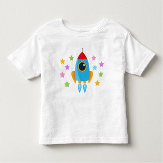 Cartoon Rocket Toddler T-shirt