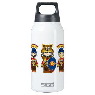 Cartoon Roman Centurion Soldiers Insulated Water Bottle