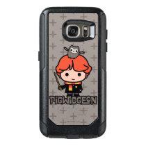 Cartoon Ron Weasley and Pigwidgeon OtterBox Samsung Galaxy S7 Case