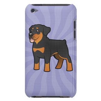 Cartoon Rottweiler iPod Case-Mate Case