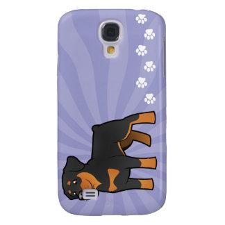 Cartoon Rottweiler Samsung Galaxy S4 Case