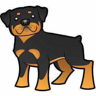 Cartoon Rottweiler Statuette