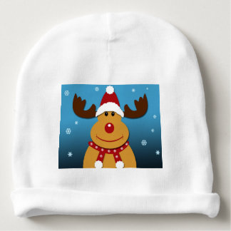 Cartoon Rudolph The Reindeer Christmas Gifts Baby Beanie