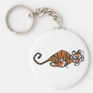 Cartoon Running Tiger Keychain