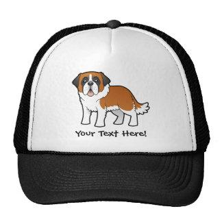 Cartoon Saint Bernard Trucker Hat